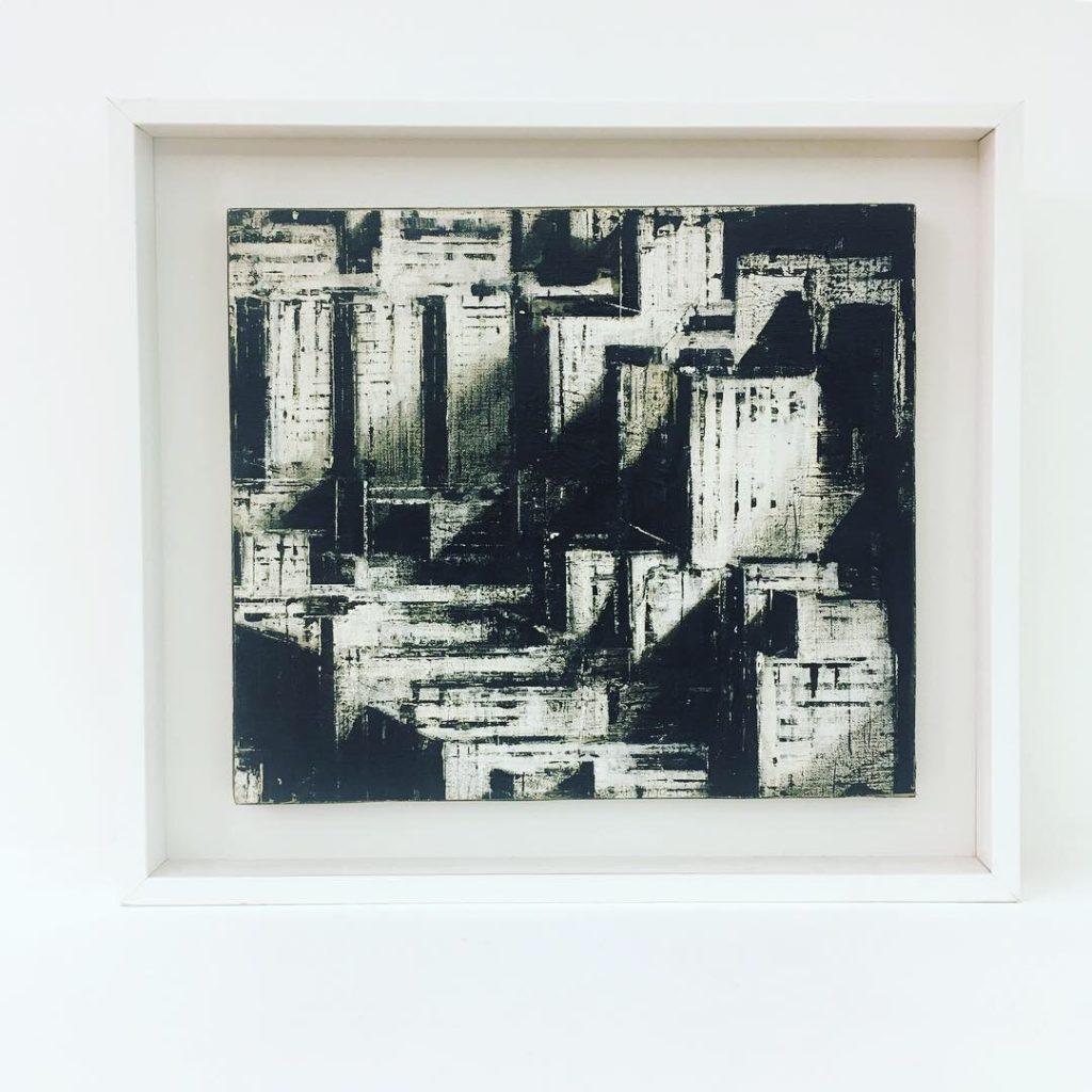 guaitamacchi jhonatan , baart gallery , arte contemporanea , bari , opere uniche , pittura , olio su tela , arte bari